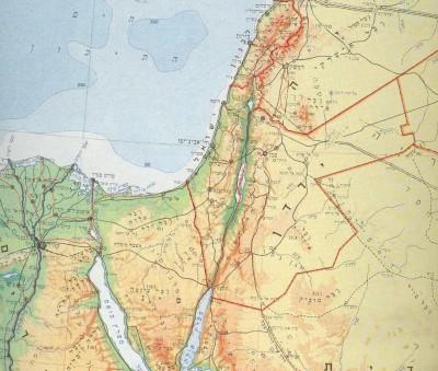 מפת ישראל לפק