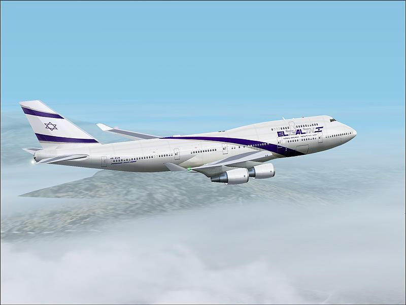 בואינג 747-400 של אל על