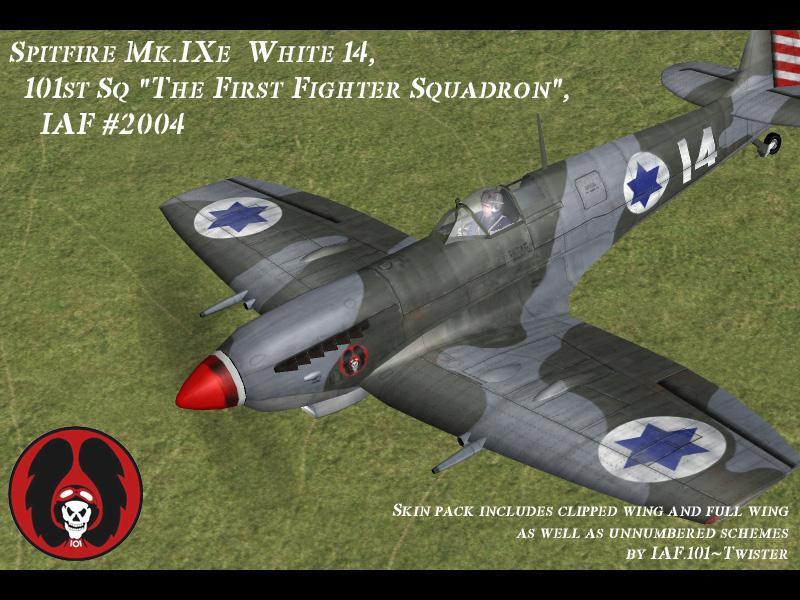 ספיטפייר מס' זנב 14 - טייסת 101