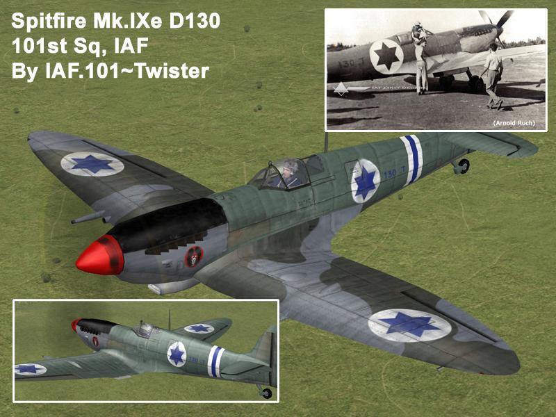 ספיטפייר מס' זנב ד. 130 - טייסת 101