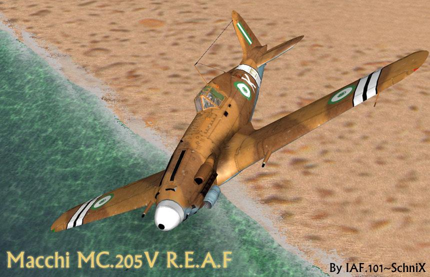 מאקי C.205V מצרי מספר זנב 1212