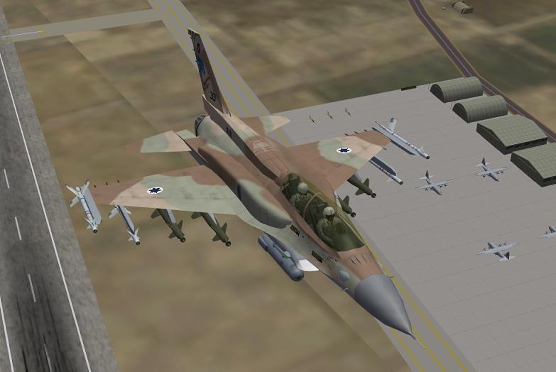 סופה (F-16I) של טייסת 253 הנגב