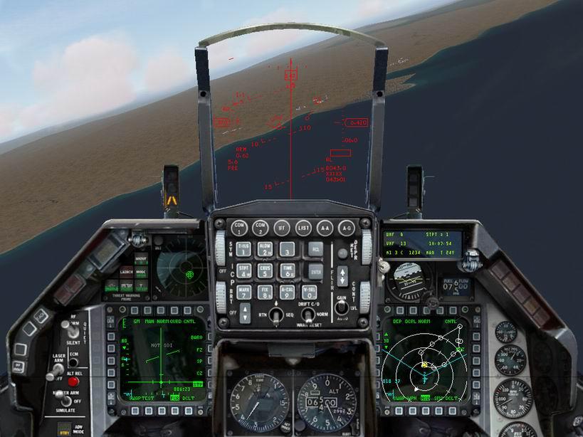 הקוקפיט של פאנתר ל-F16