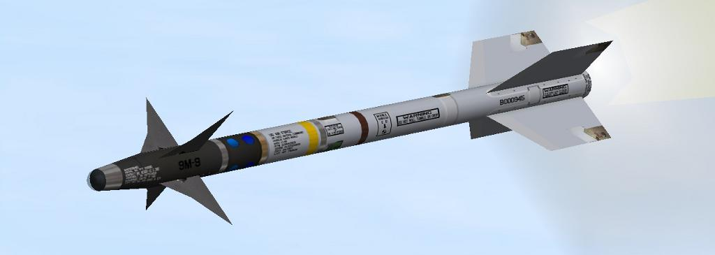 AIM-9M & AIM-120B