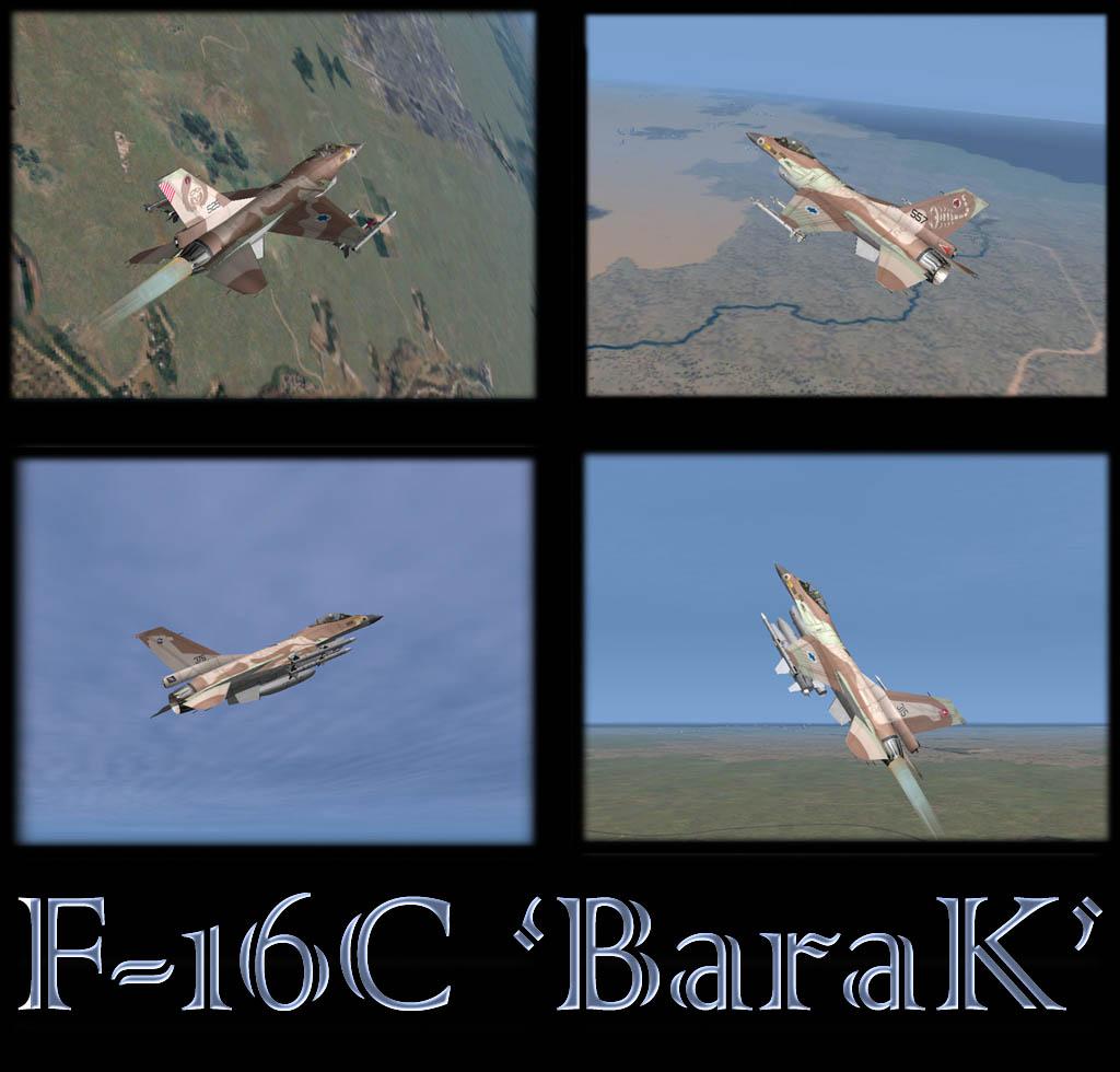 ברק - F-16C
