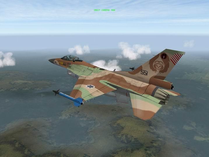 הצביעה הכחולה והאדומה - צביעת אימונים - הישראלית לAIM-9M