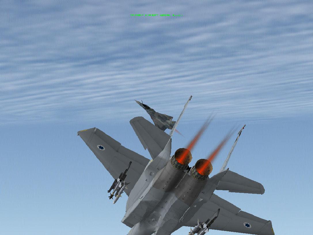 קרב אוויר Mirage VS F15C
