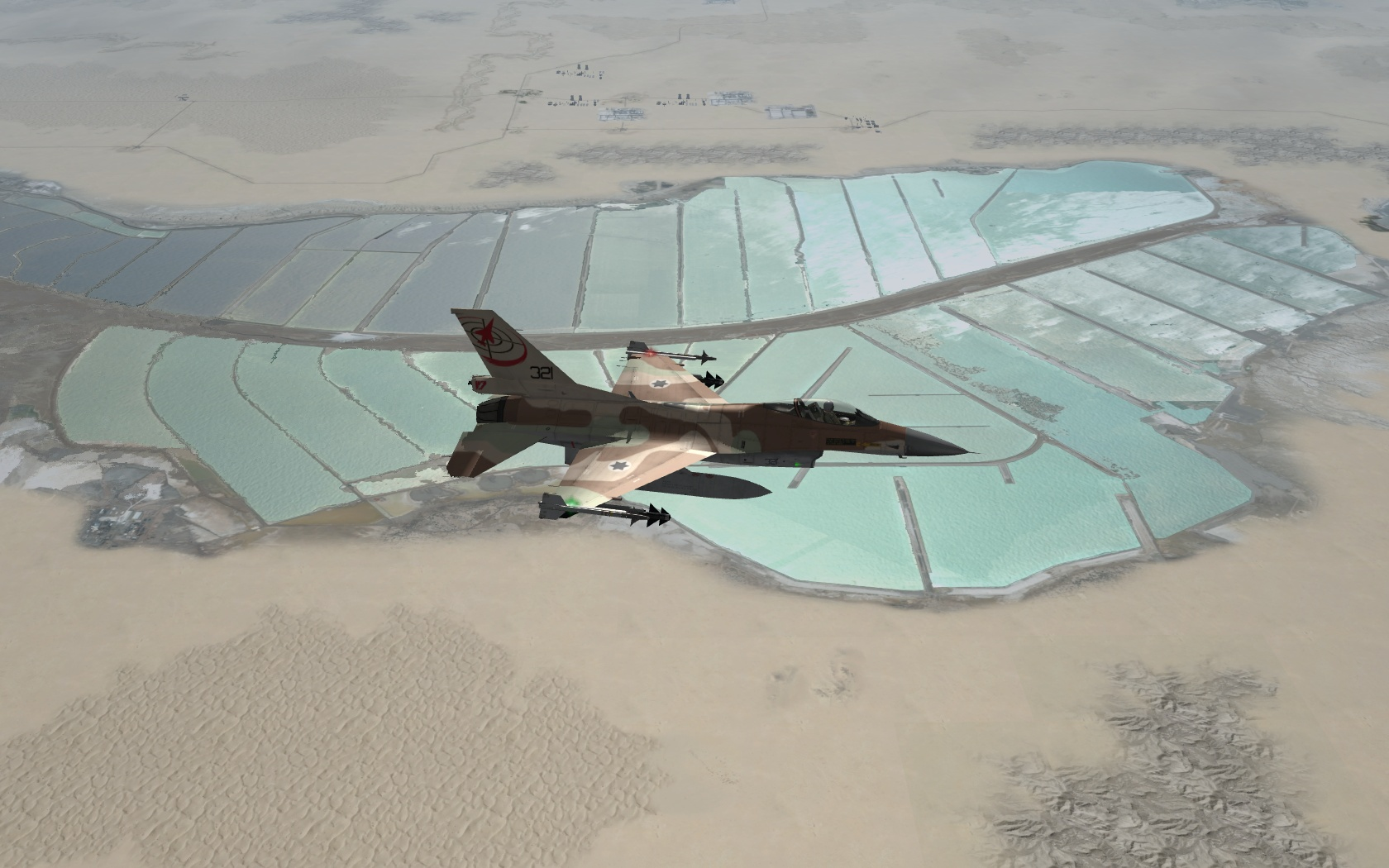 שטח ישראל ל-Falcon BMS 4.32 Update 7