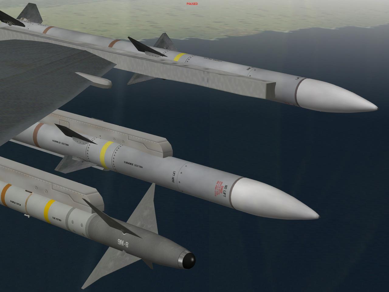 מודלים וסקינים ל-AIM-120B-C ול-AIM-9M