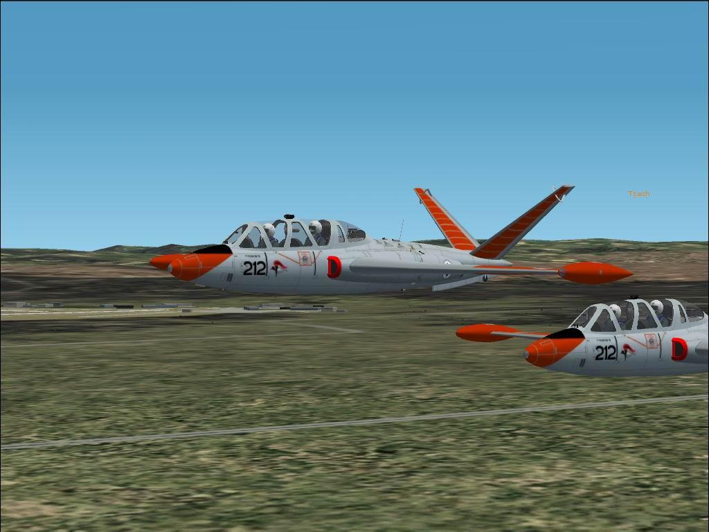 מטוס הדרכה, הפוגה