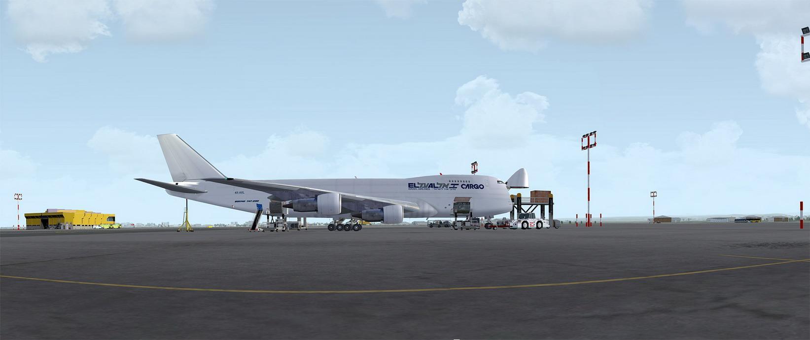 Boeing 747-200 EL AL Cargo