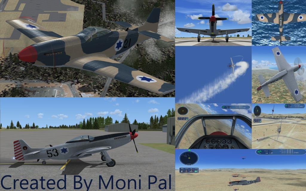 IAF P51D Racer (מוסטנג)