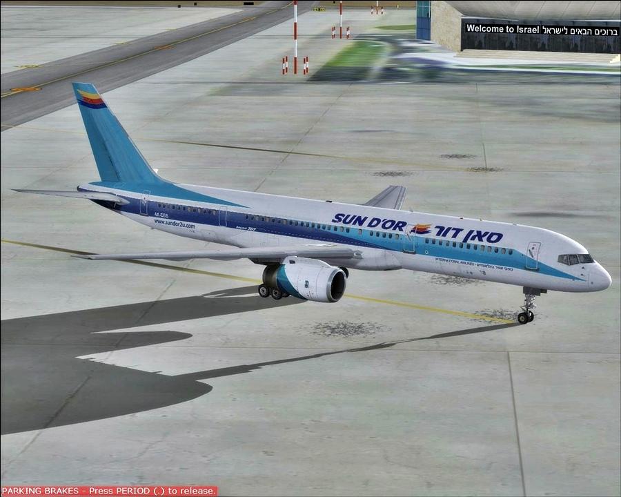 בואינג 757-200 סאן דור