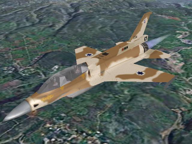 F-16D של טייסת אבירי הצפון