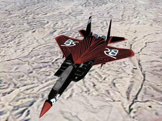 אף-15 עם פסים אדומים