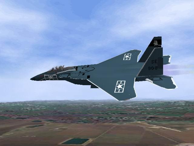 אף-15 של חיל  האויר האמריקני