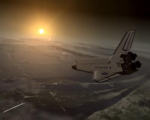 STS-51A במסלול חזרה