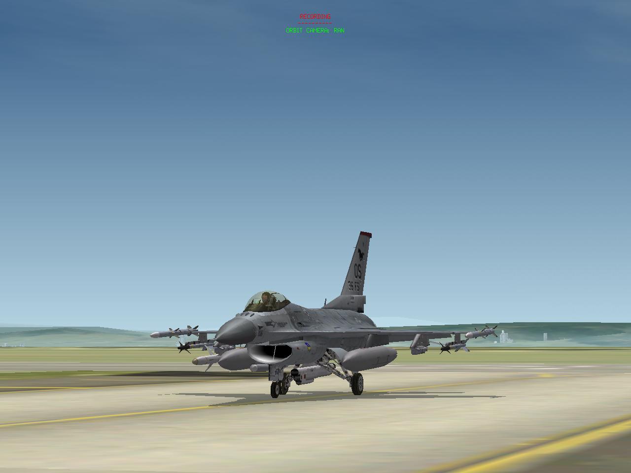 משימת SEAD עם F-16CJ